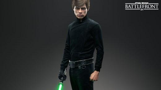 Star Wars Battlefront Luke