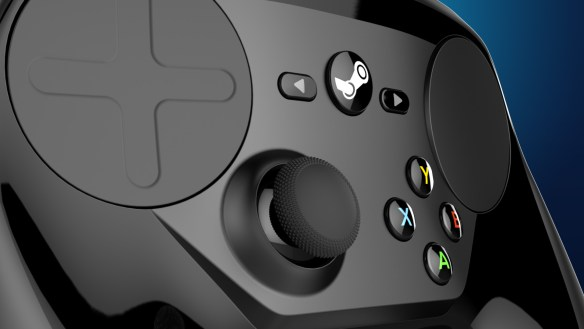 Steam Controller, el mando de Valve para Steam para emular el control con teclado y ratón