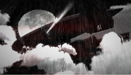 El Hindenburg, uno de los iconos de este primer episodio de Blues and Bullets