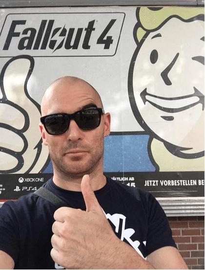 Publi de Fallout 4 por las calles de Colonia... ¡Mola!