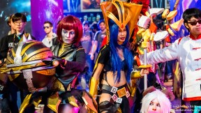 Oriana & LeBlanc Cosplay - LoL Worlds 2015