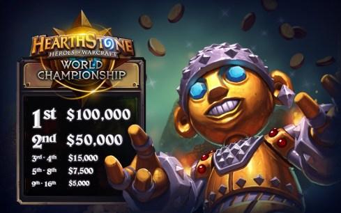 HearthStone Wolrd Championship Premios