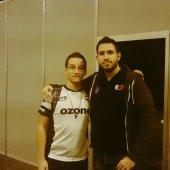 Con Ulises Prieto