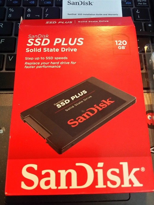 Sandisk SSD Plus 120GB 0011