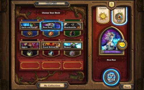 HearthStone Heroes Of Warcraft Modo Salvaje