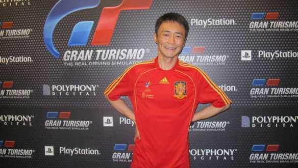 Kazunori Yamauchi, creador de Gran Turismo, en Gamelab  (fotografía propiedad de RTVE)