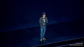Hideo Kojima presentando su nuevo juego en la conferencia de Sony