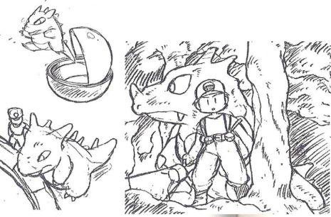 Rhydon. El primer Pokemon diseñado