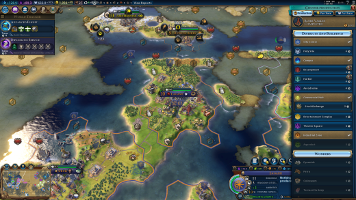 Civilization VI City