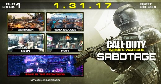 Primeras partidas en el DLC SAbotage de Call Of Duty Infinite Warfare desde PS4 Pro