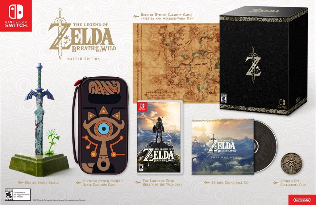 Zelda: Breath of the Wild tendrá una la edición especial para coleccionar