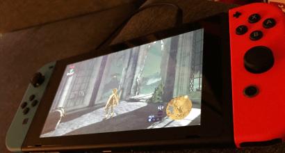 Switch portable w Link