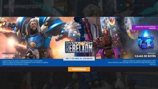 Overwatch se actualiza con modo de juego y más de un centenar de items