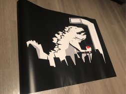 Godzi Arcade, por Roswell impreso por Pixers