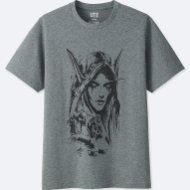 blizzard camiseta world of warcraft uniqlo