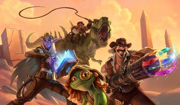 Salvadores de Uldum es el nombre de la nueva expansión de HearthStone Heroes Of Warcraft