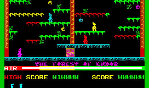 Maniac Miner de Spectrum, música de videojuegos chiptune puro