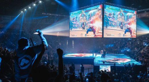 Competición de Street Fighter en el EVO 2019