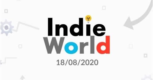 Nintendo Indie World Agosto 2020