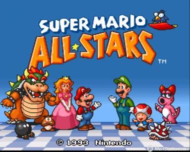 Super Mario All Stars de Snes para el 35 aniversario de Mario