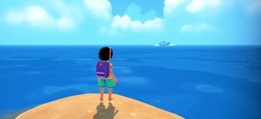 Captura de Summer in Mara, PS4