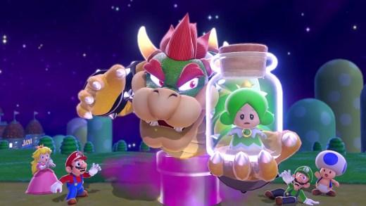 Inicio de Mario 3D World