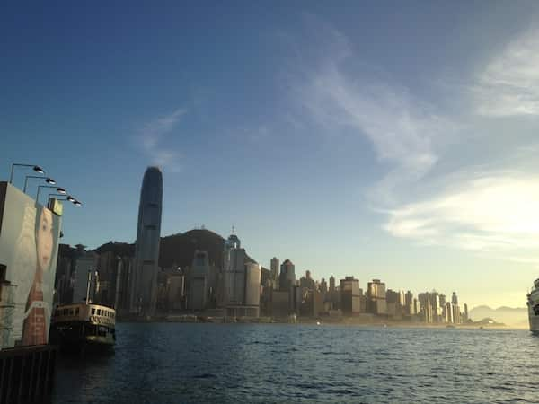 Hong Kong City walk(Star Ferry Pier) with friends in July 2012,akihikogoto.com