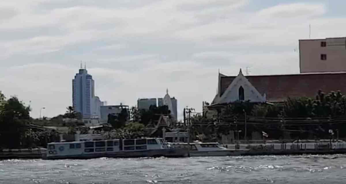 5SEC 358 - Express Boat, Chao Phraya River, Bangkok, November 2018