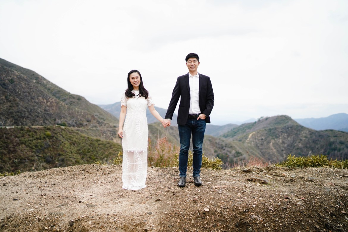 Angeles Crest Engagement Gill Lewis 16