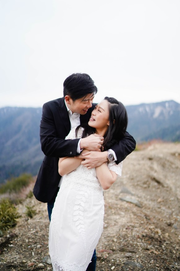 Angeles Crest Engagement Gill Lewis 21