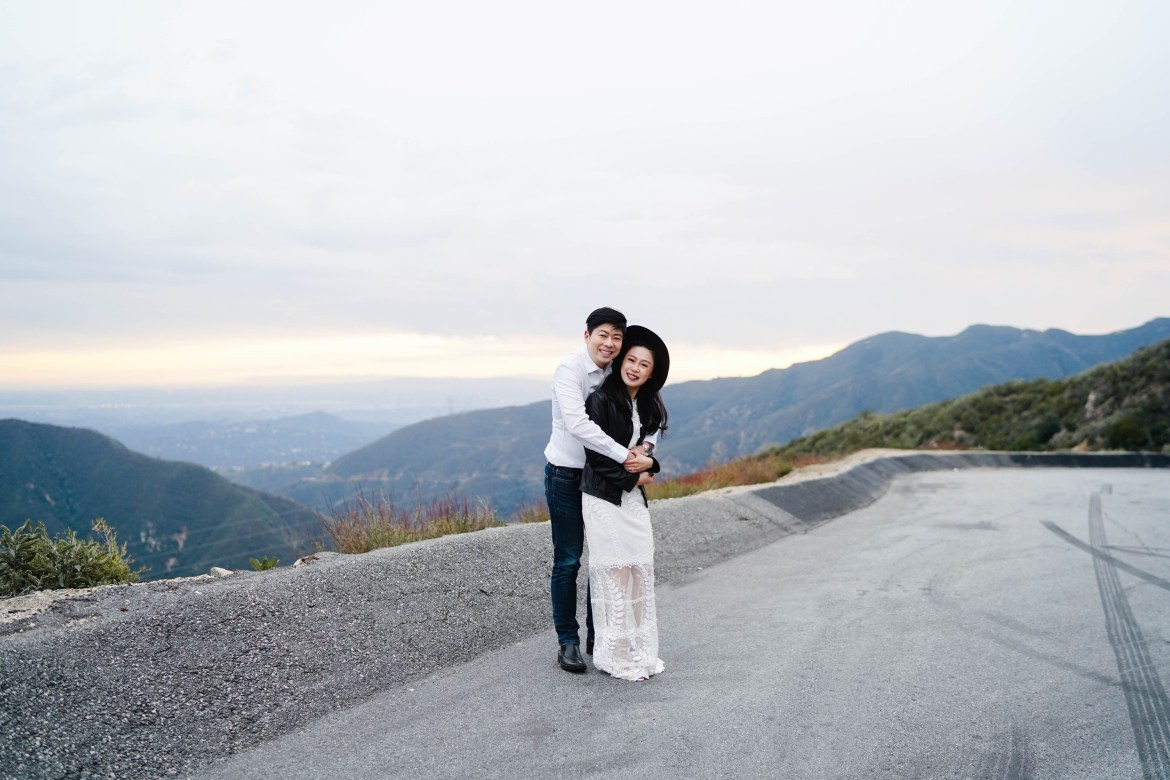 Angeles Crest Engagement Gill Lewis 36