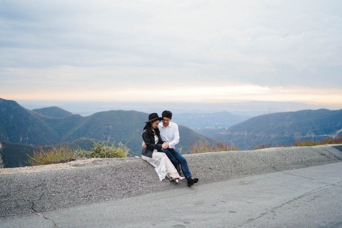 Angeles Crest Engagement Gill Lewis 44
