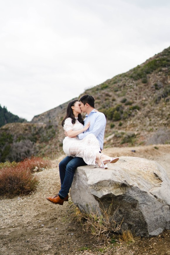 Angeles Crest Engagement Gill Lewis 9