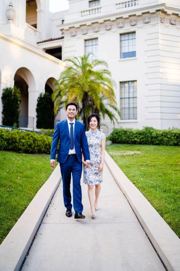 Pasadena City Hall Engagement 29