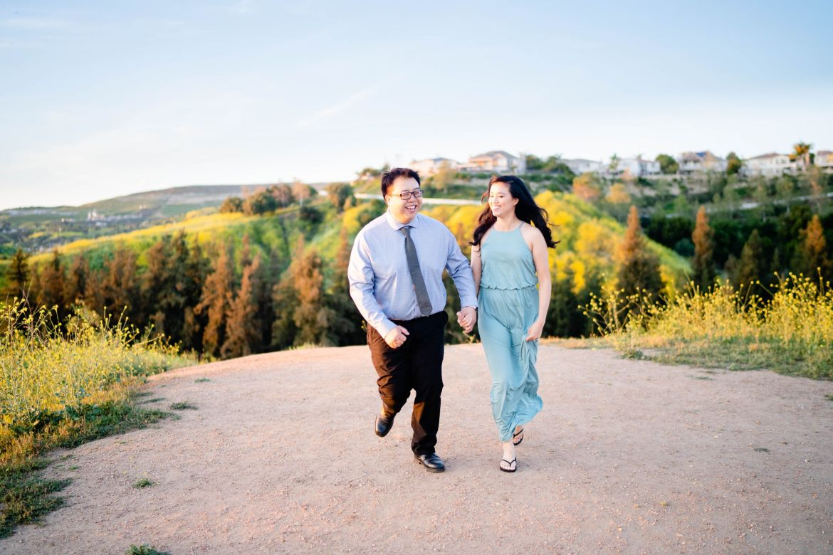 Sunset Rowland Heights Engagement