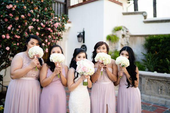 12 orange county bridesmaid dress