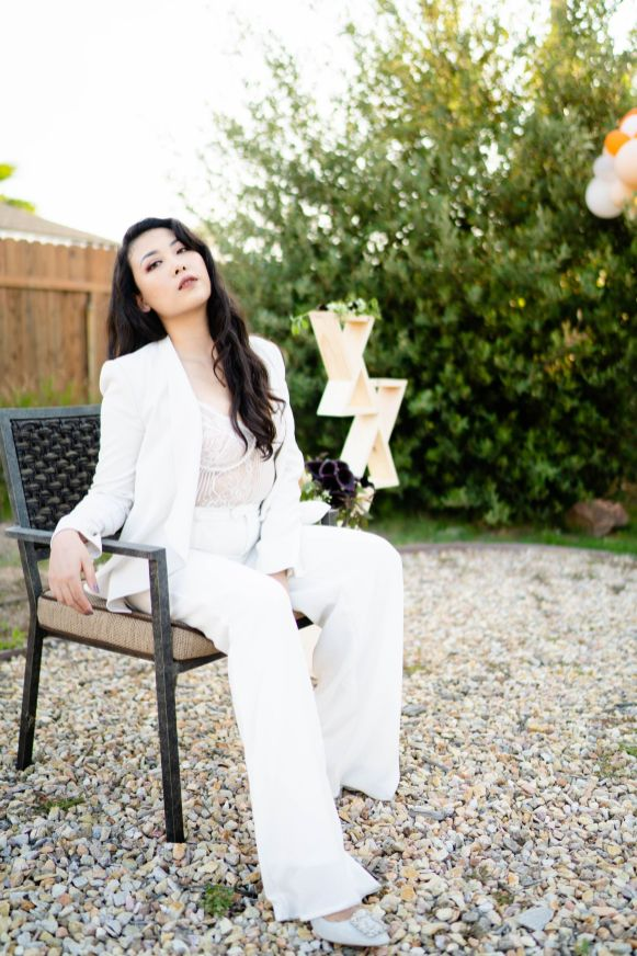 alternative suit bride