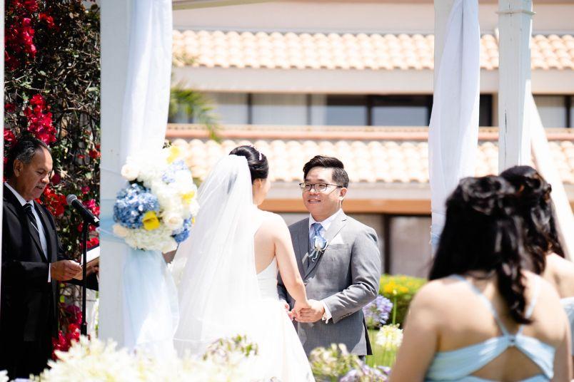 SD hilton wedding