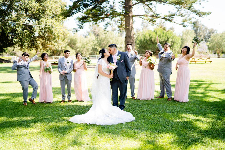 los angeles barn wedding