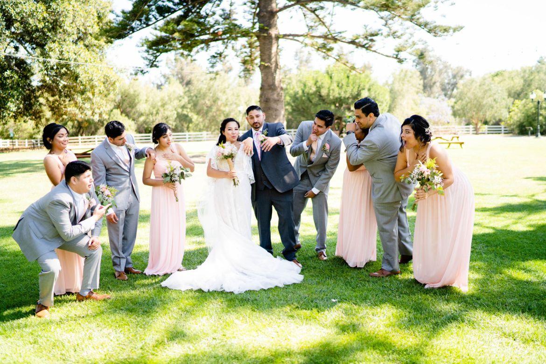 los angeles ranch house wedding
