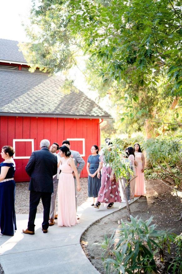 wedding at ranch house