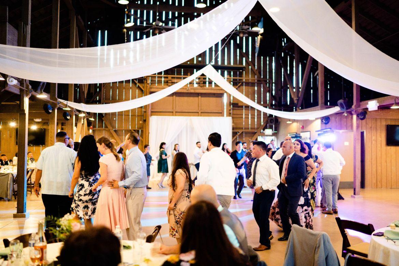 wedding at the camarillo ranch