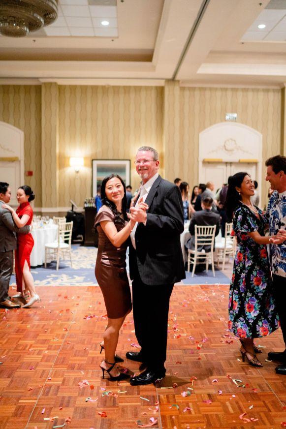 wedding guest dance