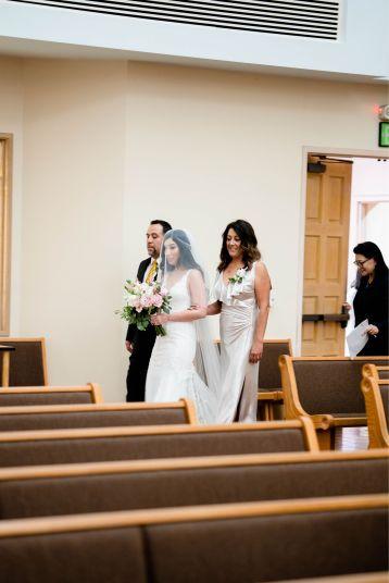 catholic church wedding bride
