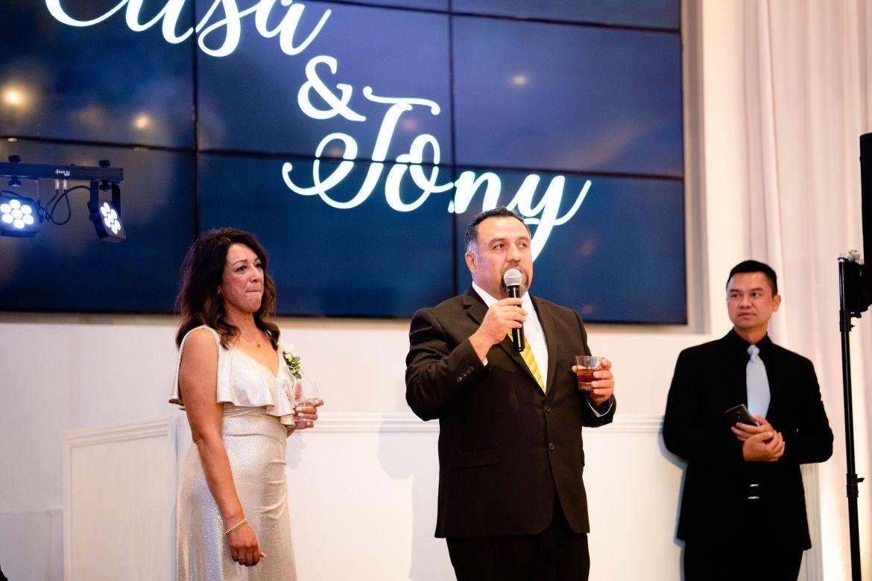 father's speech huntingon beach wedding