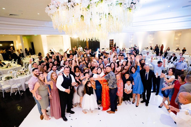 group photos huntington beach wedding