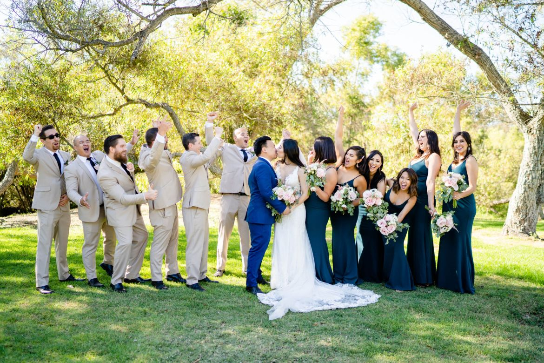 wedding photo idea huntington beach