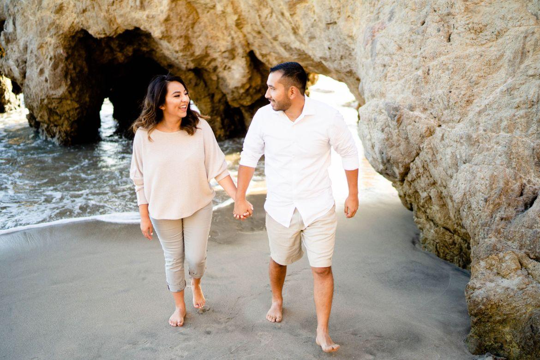 Engagement El Matador Beach