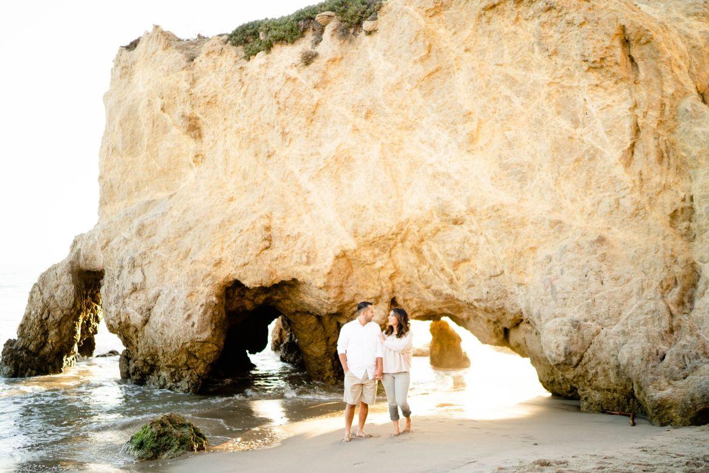 LA beach El Matador Beach