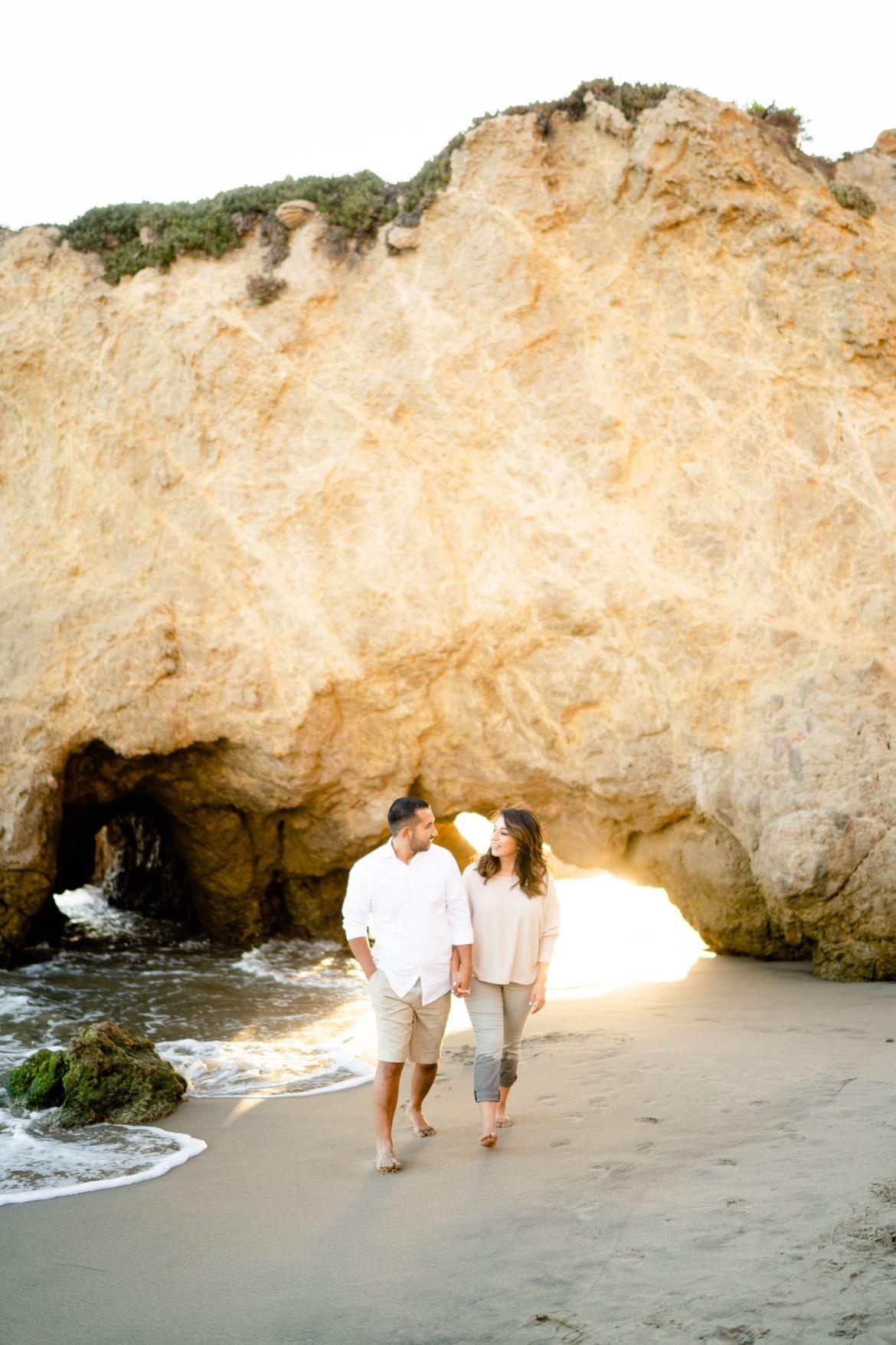 LA beach El Matador State Beach